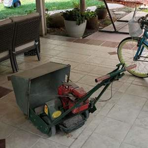 Lot # 52 - Trimall Lawnmower with Briggs and Stratton Engine