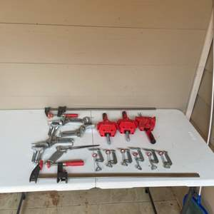 Lot # 65 - Clamps and Right Angle Clamps