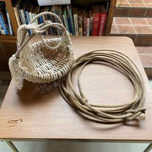 Lot # 19 - Laso rope & basket