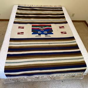 Lot # 33 - Woven rug