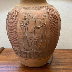 Lot # 36 - Pottery lamp
