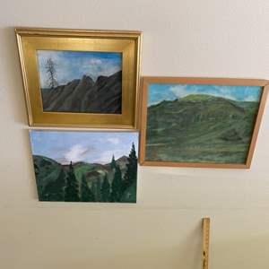 Lot # 44 - Cambria local artist Sui original paintings