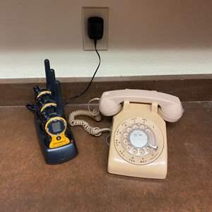 Lot # 46 - Telephone and walkie talkies
