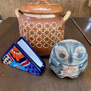 Lot # 55 - Mexican pottery