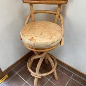 Lot # 65 -  Bentwood stools (three)