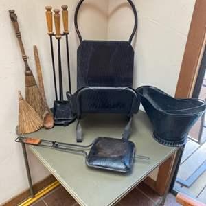 Lot # 75 - Fireplace items
