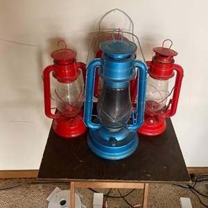 Lot # 78 - Three lanterns