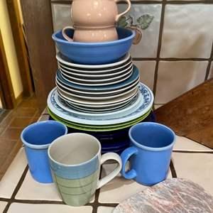 Lot # 88 - Kitchen dishes & glassware