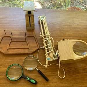 Lot # 106 - Vintage desk supplies