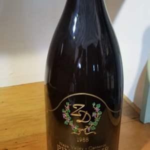 Lot # 6 -1988 ZD Pinot Noir