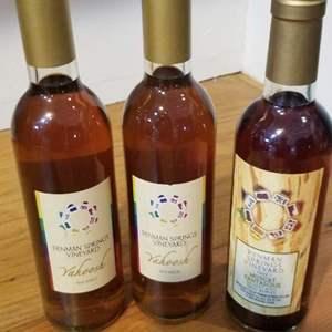 Lot # 13 -3 Bottles PENMAN SPRINGS