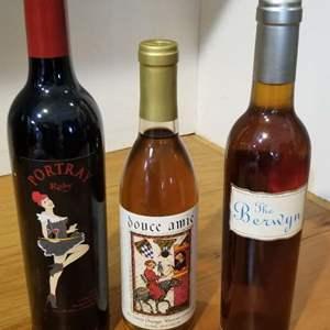 Lot # 15 -3 Bottles of Dessert wine