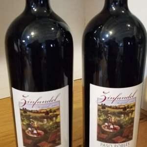 Lot # 20 -2 Bottles of 2002 PASO ROBLES ZINFANDEL FESTIVAL COLLABORATION 1.5L