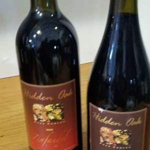 Lot # 33 -2 Bottles of HIDDEN OAKS