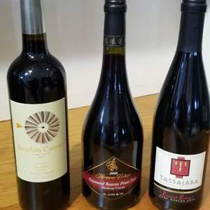 Lot # 43 -3 Bottles of Great Wine!