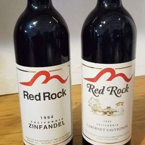 Lot # 45 -2 Bottles of RED ROCK