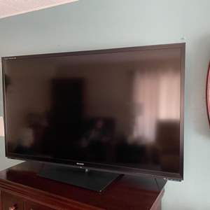 """Lot # 3 - Sharp 60"""" LCD TV with remote"""