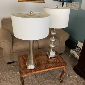 Lot # 14 - Two table lamps
