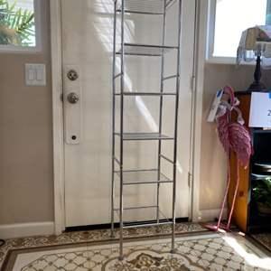 """Lot # 36 - 10"""" x 12"""" storage rack 5' tall"""