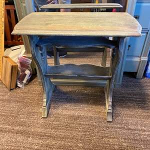 Lot # 55 - Wood end table