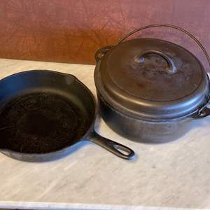 Lot # 71 - Griswold & USA cast iron