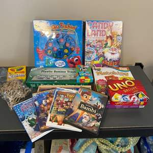 Lot # 84 - Games and movies