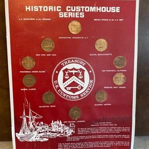 Lot # 95 - US Mint Historic Customhouse coin series