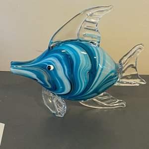 Lot # 112 - Handblown glass fish