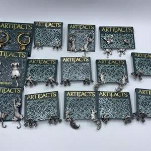 Lot # 122 - New Artifacts earrings
