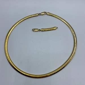 "Lot # 133 - Silver 16"" necklace plus 2"" extender (29.5g)"