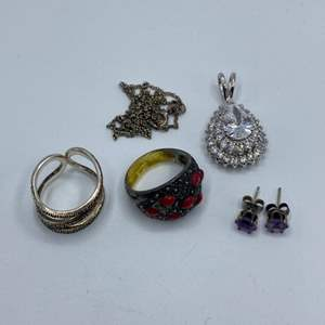 Lot # 134 - Sterling jewelry (19.9g tw)