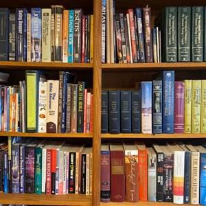Lot # 135 - Books! Three shelves full
