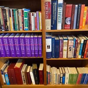 Lot # 136 - Books! Three shelves full