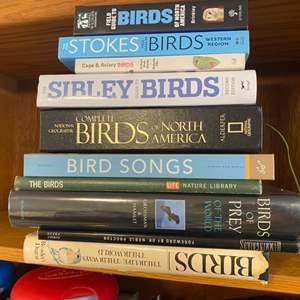Lot # 137 - Books on birds
