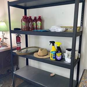 Lot # 162 - Storage rack (contents not included)