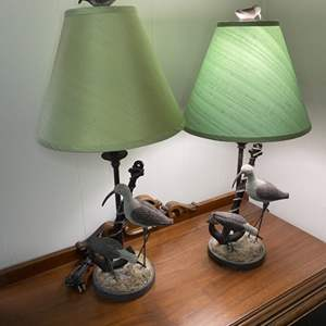Lot # 164 - Pair of matching table lamps