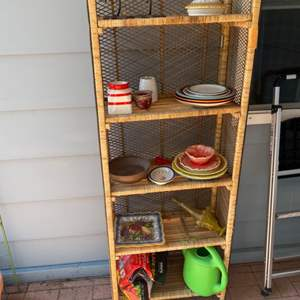 Lot # 168 - Shelf with contents