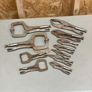 Lot # 193 - Various vise grips