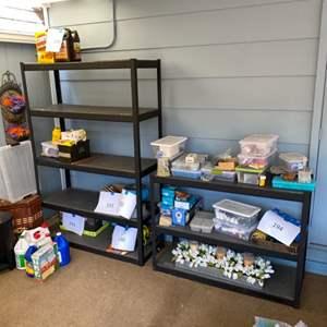 """Lot # 196 - Three 5000# storage racks by Whalen Storage 48"""" x 36"""" x 18"""""""