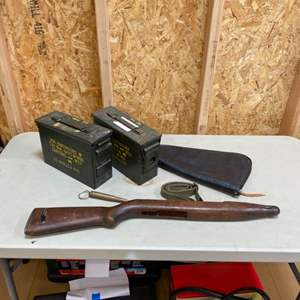 Lot # 197 - Military items