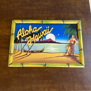 Lot # 209 - Vintage wall art from The Galley Restaurant in Morro Bay
