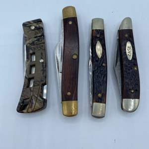 Lot # 259 - Quality folding pocket knives