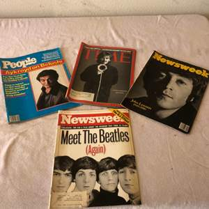 Lot # 41 - Beatles Collectible Magazines and Other