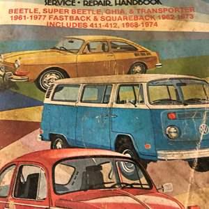 Lot # 97 - Books..Vintage Volkswagen catalog 1961 -  1977 Service & repair