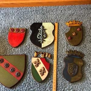 Lot # 103 - Man Cave European Crests