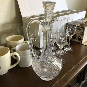 Lot # 106 - Glasses , Wine Decanter, and More