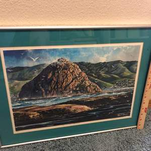 Lot # 110 - Morro Bay art collection Individually framed five pieces