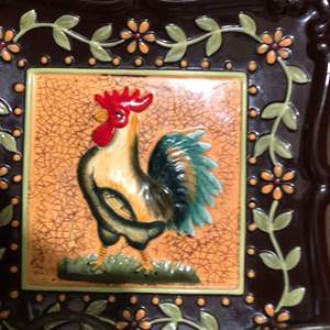 Lot # 114 - Rooster Decor and More