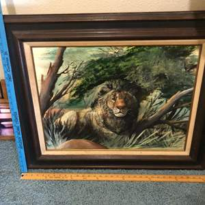 Lot # 116 - Art Collection Quality framed and matted… Plus a box of frames