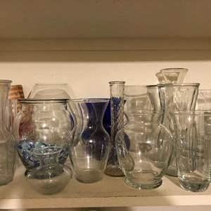 Lot # 118 - Vases Galore